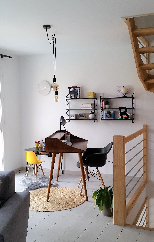 Un salon à l'étage